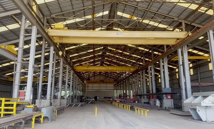 global steel fabrication facility